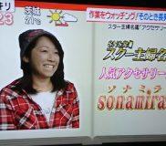 🌻【ミンネ】の人気作家ソナミラさんがTVで紹介されました①