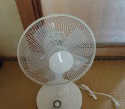 🌀最近買ったもの③ 扇風機 なんと、真っ平らな段ボール箱に入った状態で届きました