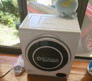 最近買ったもの④ 小型衣類乾燥機~~乾くまで結構時間がかかります!