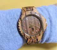 ⌚最近買った物⑤ GreenTimeの木製腕時計